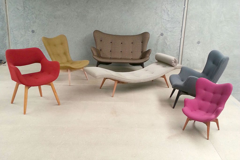 Collection Of Grant Featherston Contour Range
